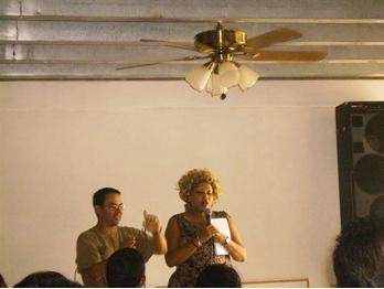 Pastor Roxy teach